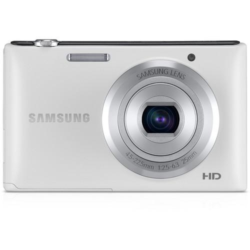 Samsung ST72 Digital Camera (White)