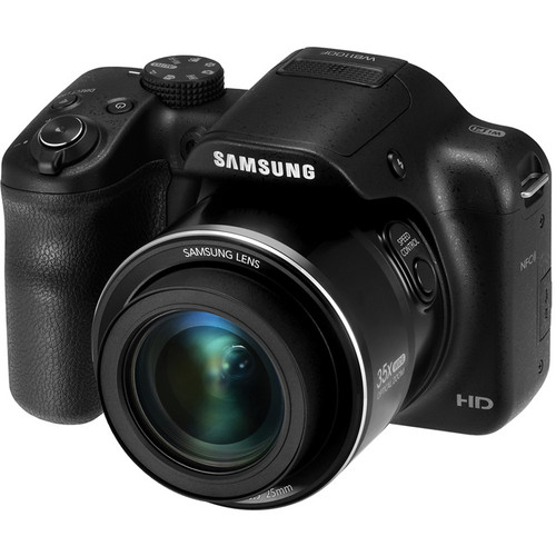 Samsung WB1100F Smart Digital Camera (Black)