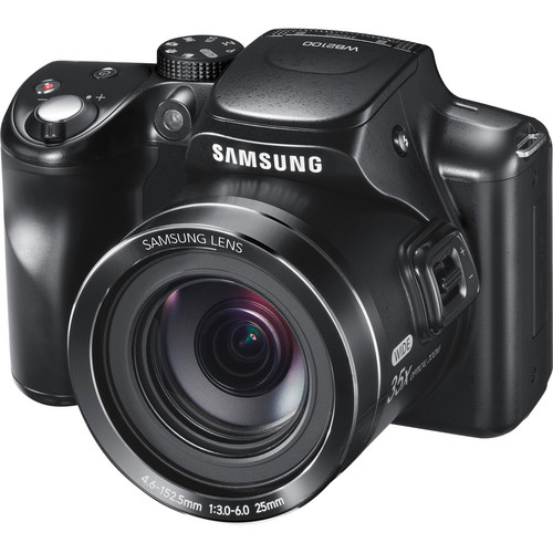 Samsung WB2100 Digital Camera (Cobalt Black)