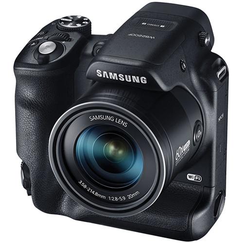 Samsung WB2200F Digital Smart Camera (Black)