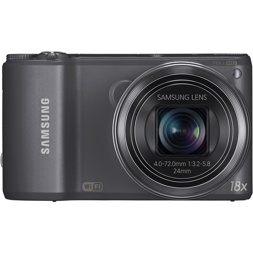Samsung WB250F Smart Digital Camera (Gun Metal)