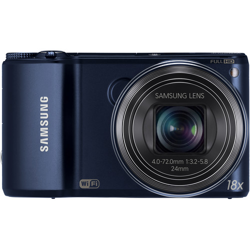 Samsung WB250F Smart Digital Camera (Cobalt Black)