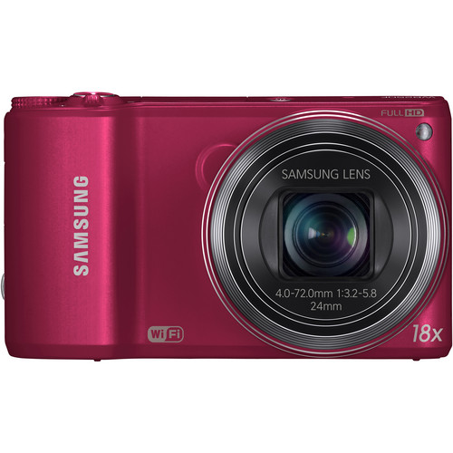 Samsung WB250F Smart Digital Camera (Red)
