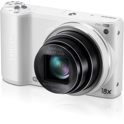 Samsung WB250F Smart Digital Camera (White)