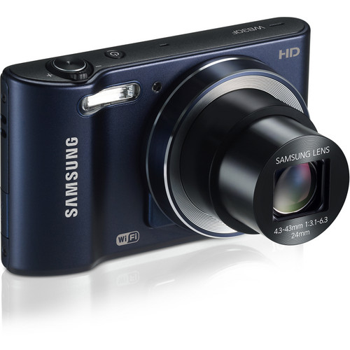 Samsung WB30F Smart Digital Camera (Cobalt Black)
