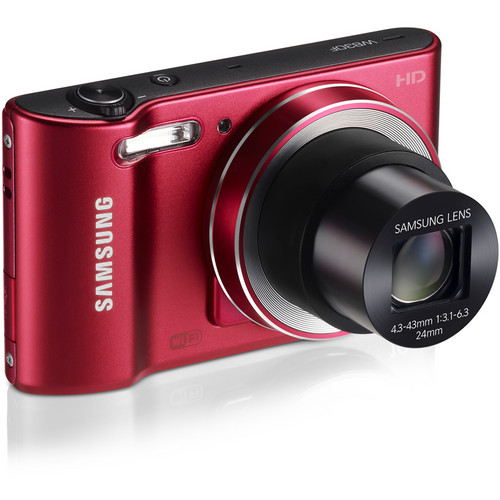 Samsung WB30F Smart Digital Camera (Red)