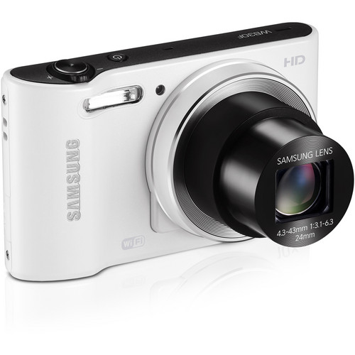 Samsung WB30F Smart Digital Camera (White)