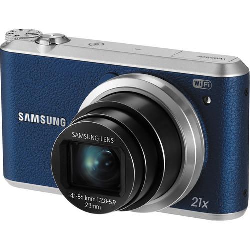 Samsung WB350F Smart Digital Camera (Blue)
