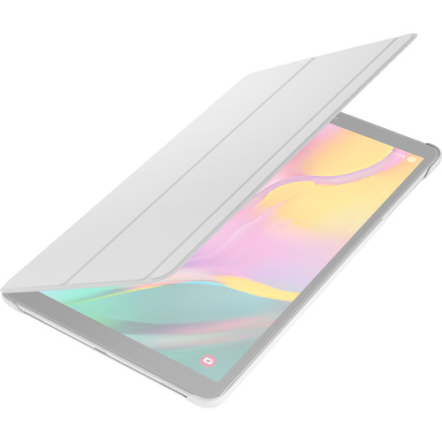 """Samsung Book Cover for Galaxy Tab A 10.1"""" (2019) Tablet (White)"""