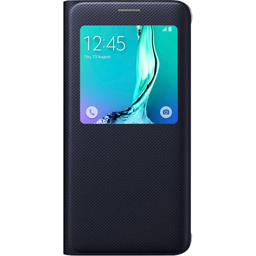 Samsung S-View Flip Cover for Galaxy S6 edge+ (Black Sapphire)