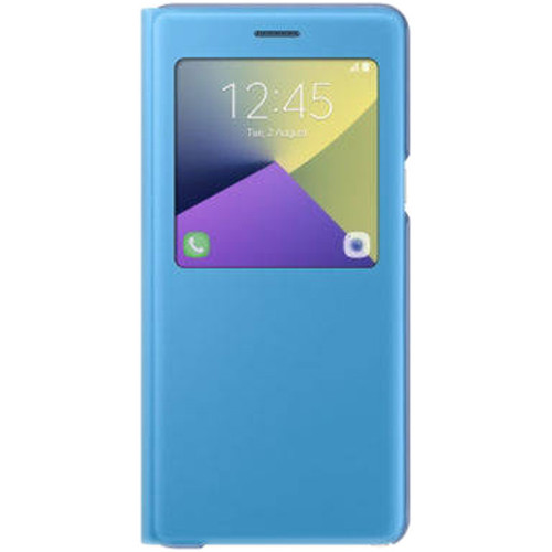 Samsung S-View Flip Cover for Galaxy Note 7 (Blue)