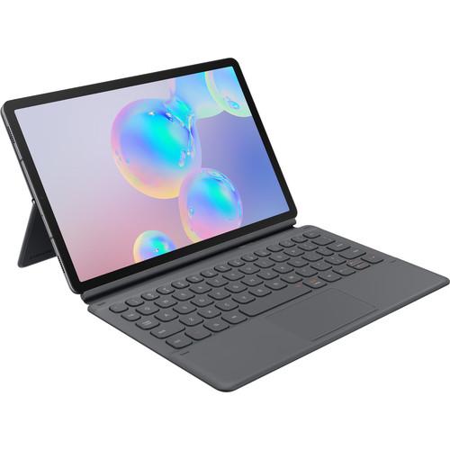 Samsung Galaxy Tab S6 Book Cover Keyboard (Gray)