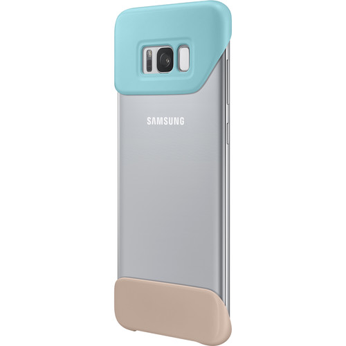 Samsung Two Piece Cover for Galaxy S8+ (Mint/Brown)