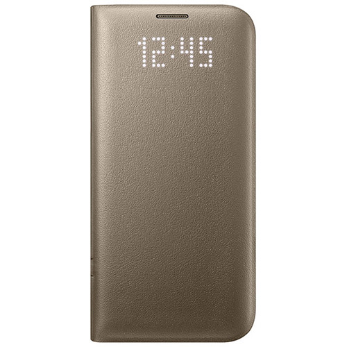 Samsung LED View Cover for Galaxy S7 edge (Gold)