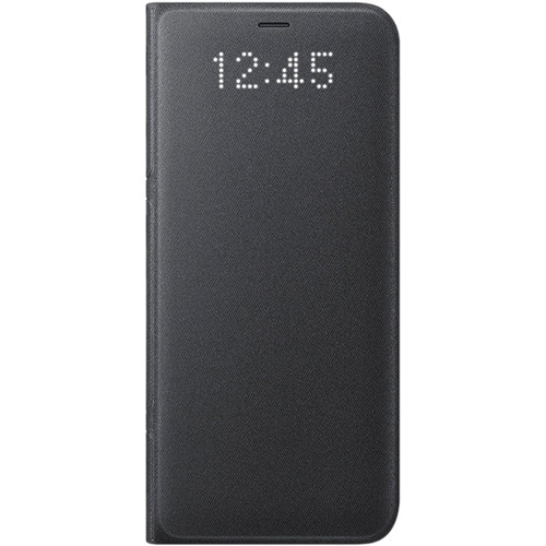 Samsung LED Wallet Cover for Galaxy S8 (Black)