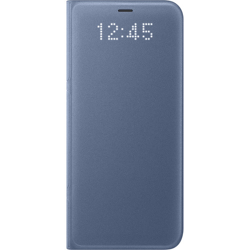 Samsung LED Wallet Cover for Galaxy S8 (Blue)