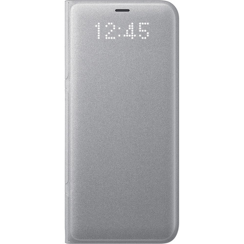 Samsung LED Wallet Cover for Galaxy S8 (Silver)