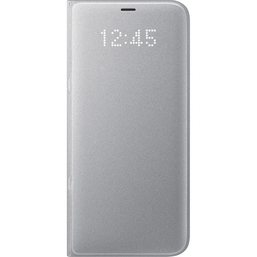 Samsung LED Wallet Cover for Galaxy S8+ (Silver)