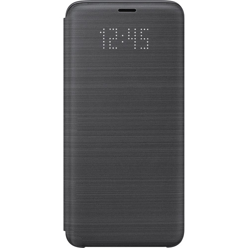 Samsung LED Wallet Case for Samsung Galaxy S9 (Black)