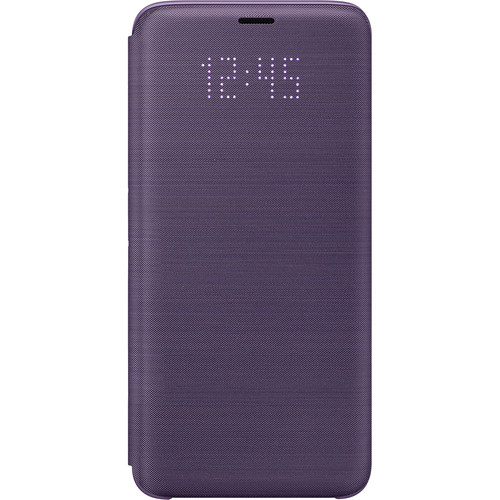 Samsung LED Wallet Case for Samsung Galaxy S9 (Violet)