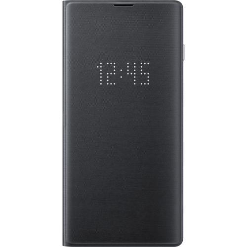 Samsung LED Wallet Cover for Galaxy S10 (Black)