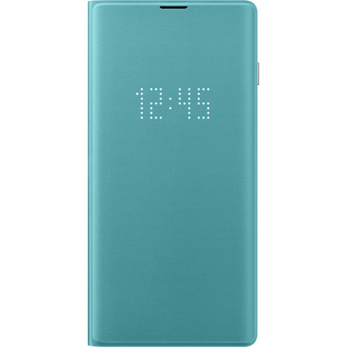 Samsung LED Wallet Cover for Galaxy S10 (Green)