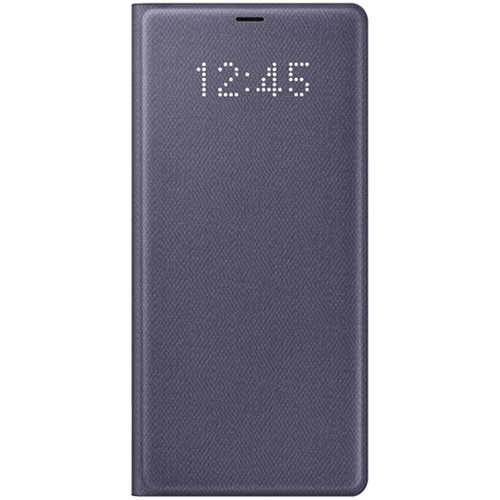Samsung LED Wallet Cover for Galaxy Note 8 (Orchid Gray)