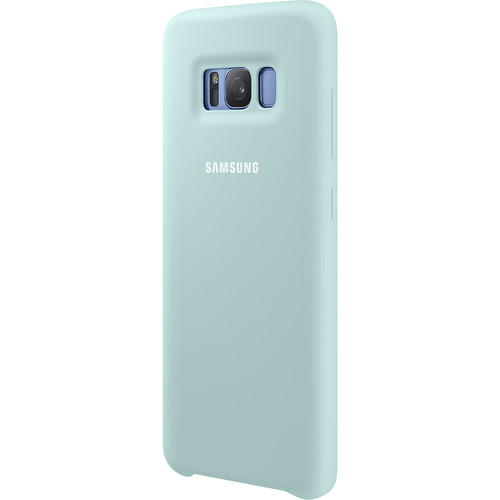 Samsung Silicone Cover for Galaxy S8 (Blue)