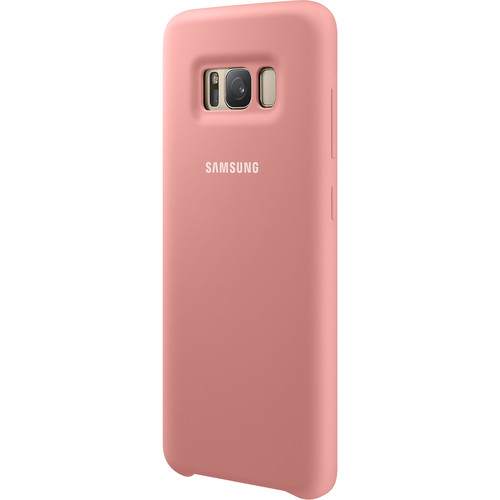 Samsung Silicone Cover for Galaxy S8 (Pink)