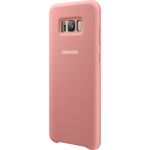Samsung Silicone Cover for Galaxy S8+ (Pink)