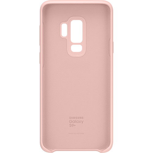 Samsung Silicone Phone Cover for Galaxy S9+ (Pink)
