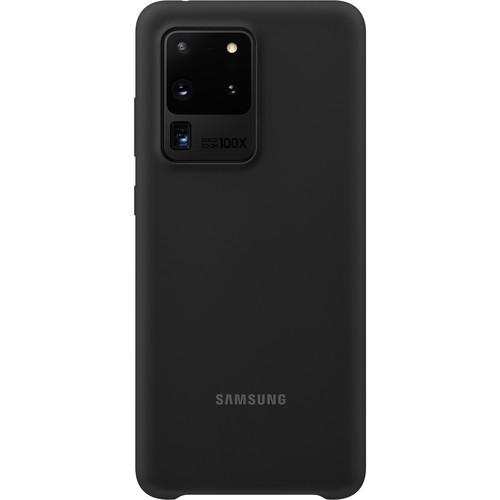 Samsung Silicone Cover for Galaxy S20 Ultra (Black)