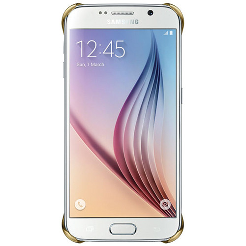 Samsung Protective Cover for Galaxy S6 (Clear Gold)