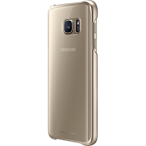 Samsung Protective Cover for Galaxy S7 (Clear Gold)