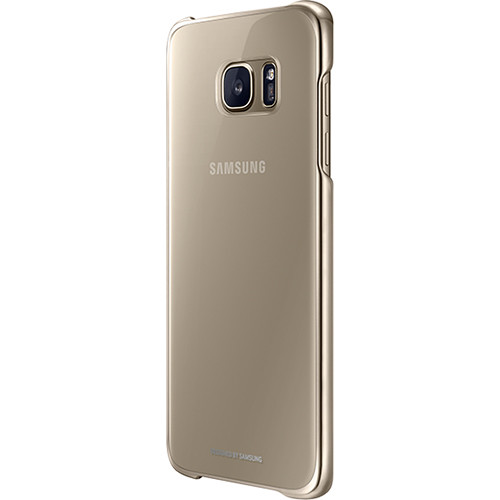 Samsung Protective Cover for Galaxy S7 edge (Clear Gold)