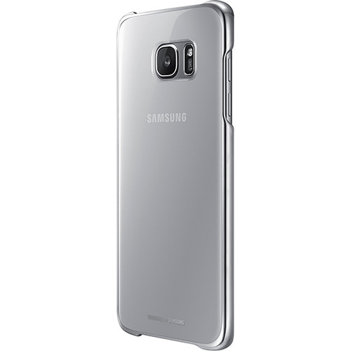 Samsung Protective Cover for Galaxy S7 edge (Clear Silver)
