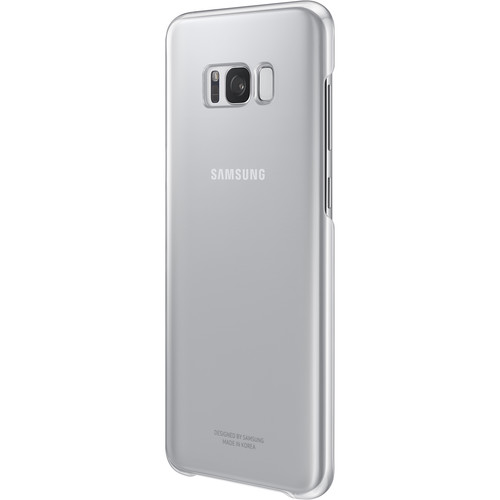 Samsung Protective Cover for Galaxy S8+ (Clear Silver)