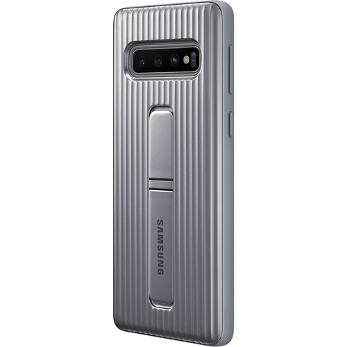 Samsung Rugged Protective Cover for Galaxy S10 (Silver)