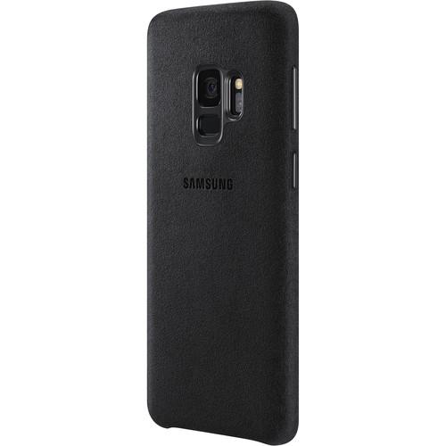 Samsung Alcantara Case for Galaxy S9 (Black)