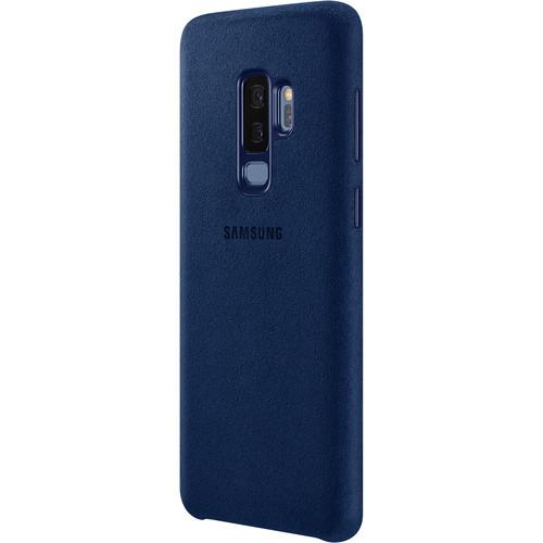 Samsung Alcantara Case for Galaxy S9+ (Blue)