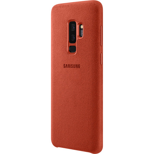 Samsung Alcantara Case for Galaxy S9+ (Red)