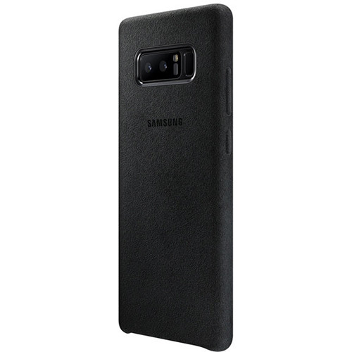 Samsung Galaxy Note 8 Alcantara Cover (Black)