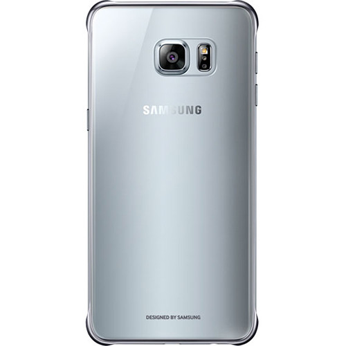 Samsung S-View Flip Cover for Galaxy S6 edge+ (Clear Silver)