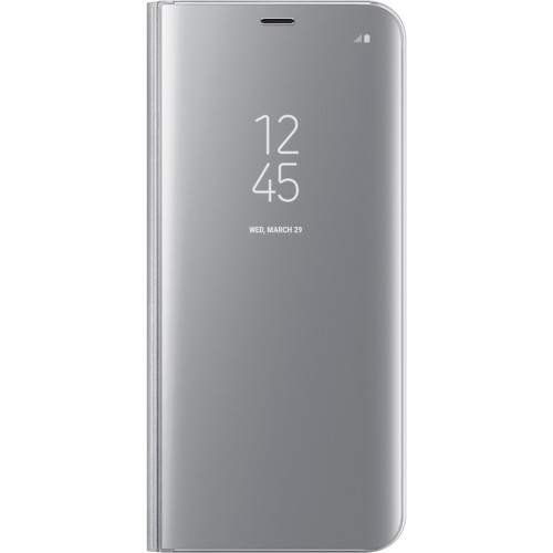 Samsung S-View Flip Cover for Galaxy S8+ (Silver)