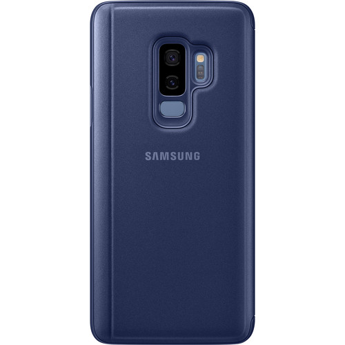 Samsung S-View Case for Galaxy S9+ (Blue)