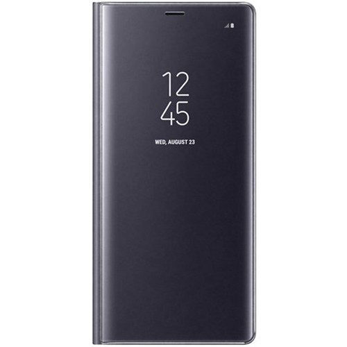 Samsung S-View Flip Cover for Galaxy Note 8 (Orchid Gray)