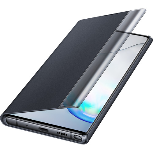 Samsung Galaxy Note10+ S-View Flip Cover (Black)