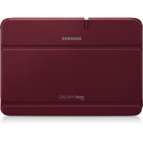 "Samsung Book Cover for Galaxy Note 10.1"" Tablet (Garnet Red)"