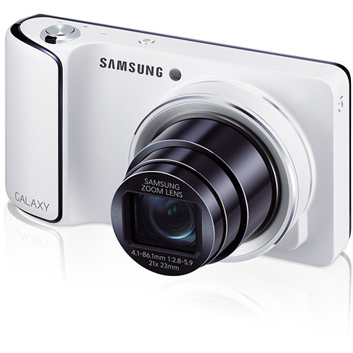 Samsung GC110 Galaxy Digital Camera (White)