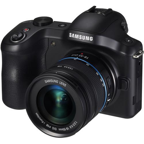 Samsung Galaxy NX Mirrorless Digital Camera with 18-55mm Lens